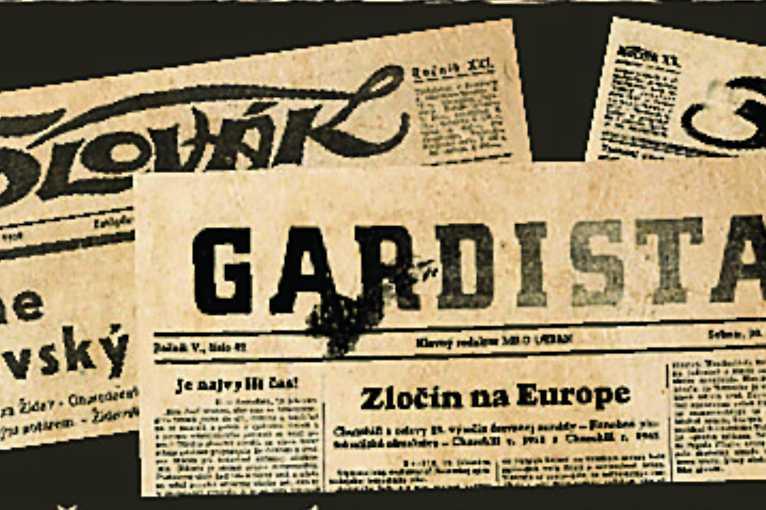 Protižidovská propaganda na stránkach dobovej tlače slovenského štátu
