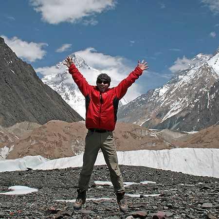 Honza Tráva: Expedice Gasherbrum I (8086 m)