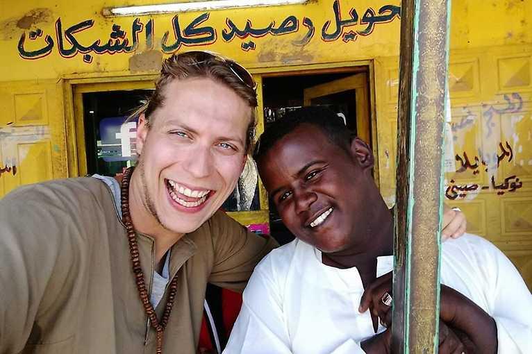 Vláďa Váchal: O cestě po Súdánu