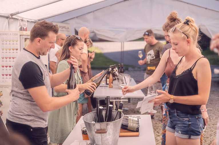 Ostrava žije vínem 2021