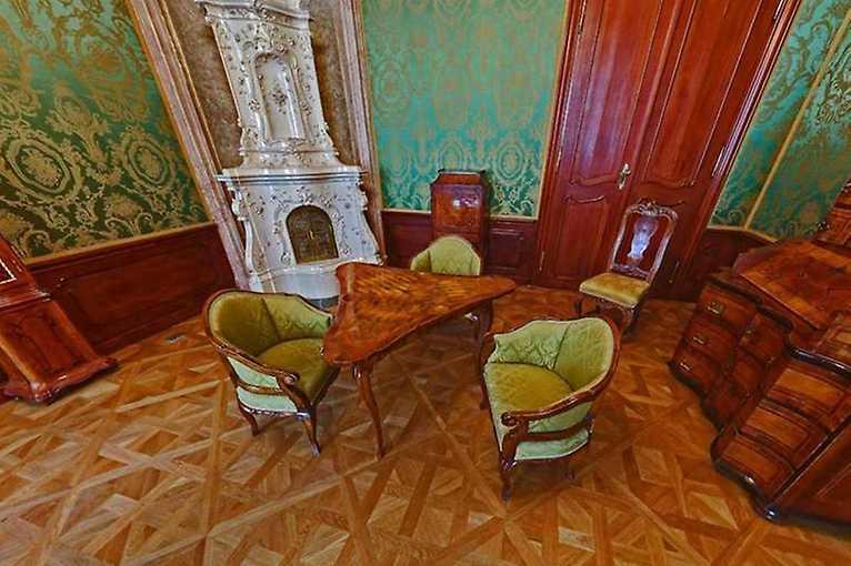 Expozícia historických interiérov