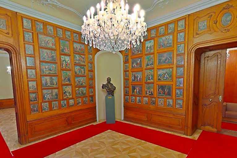Virtuálna prehliadka Mirbachovho paláca