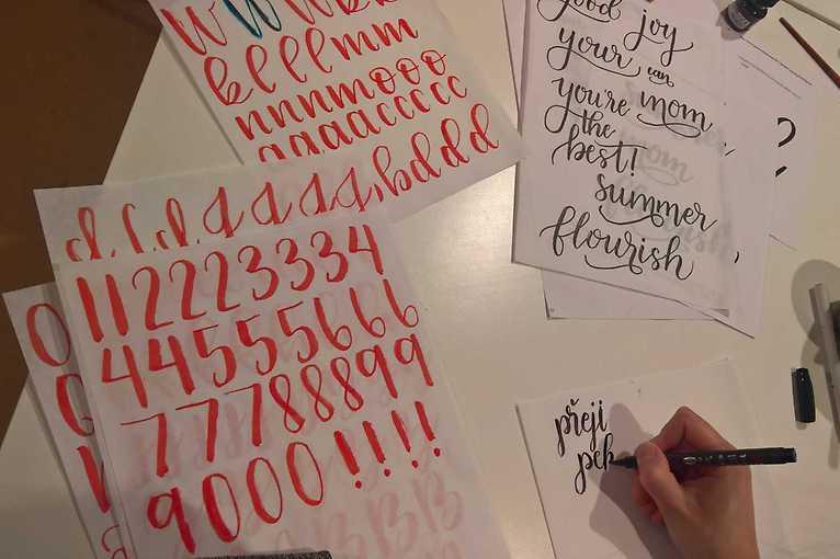 Moderní kaligrafie