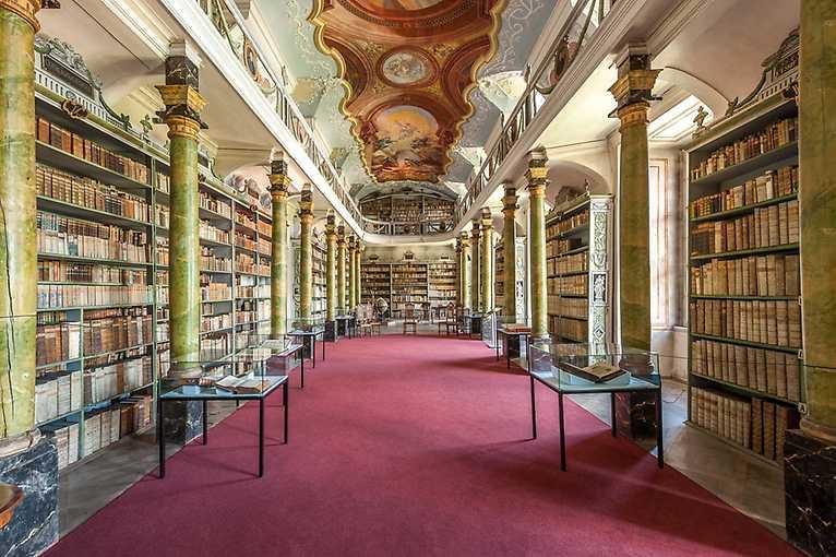 Klášter Broumov – knihovna