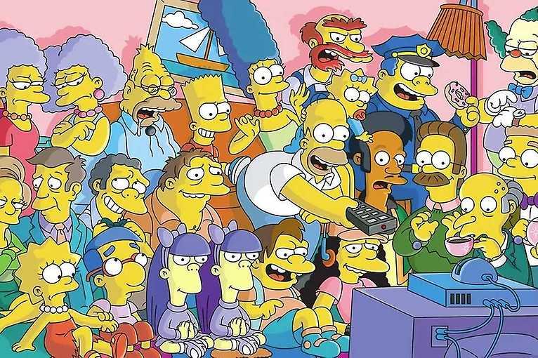 Online týmový kvíz: Simpsonovi