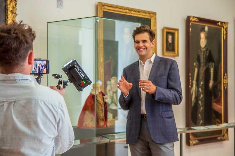 Virtuální prohlídka Lobkowiczkého paláce v anglickém jazyce