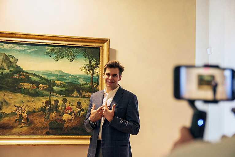Virtuální prohlídka Lobkowiczkého paláce v českém jazyce