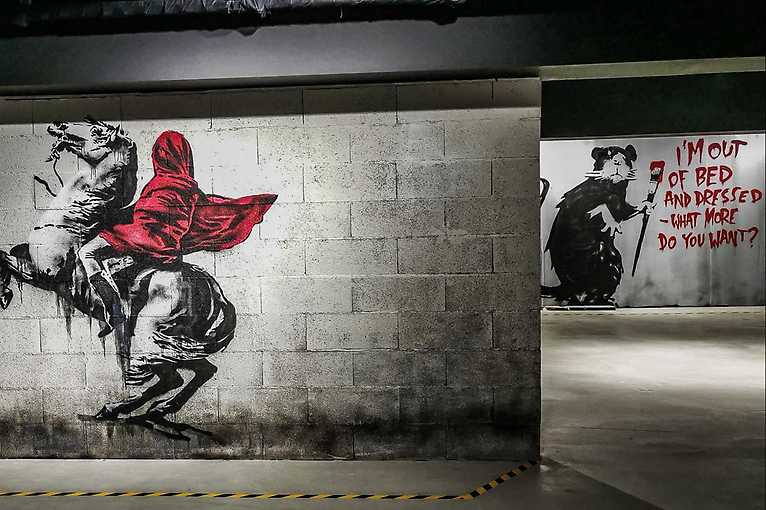 The Art of Banksy: Without Limits