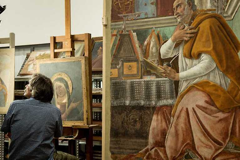 Lumière doma: Florencia a galéria Uffizi