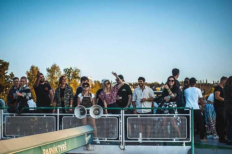 Prague Drum and Bass boat party #2