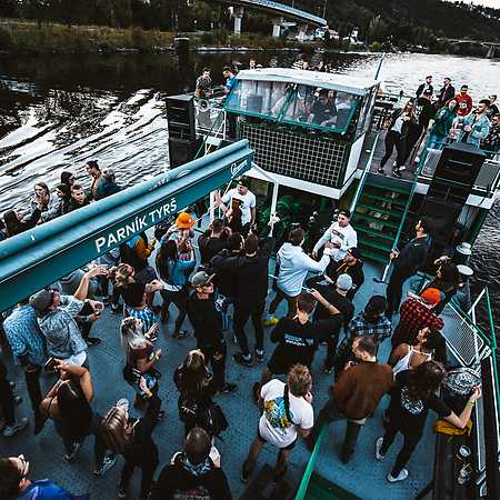 Prague Drum and Bass boat party #3