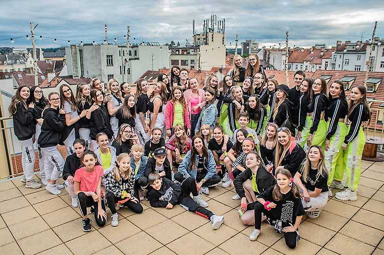 Letní taneční show TSNL