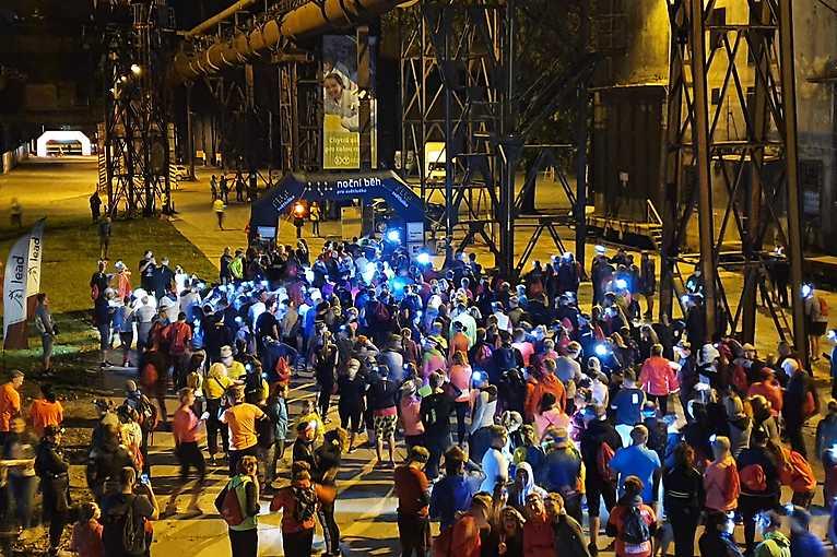 Noční běh pro Světlušku 2021 Olomouc