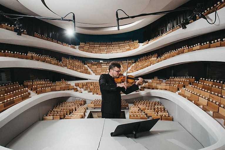 Wystawa plenerowa: Sinfonia Varsovia w skali