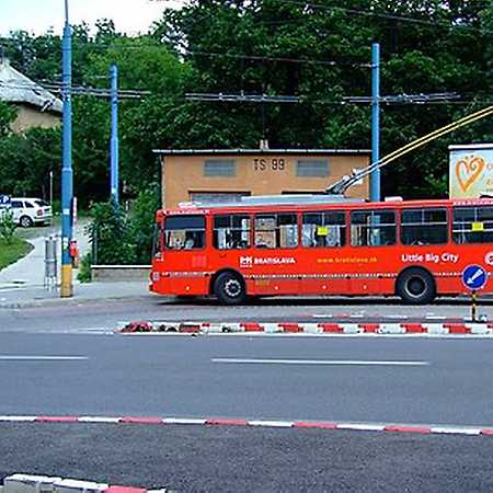 Búdková – konečná trolejbusu