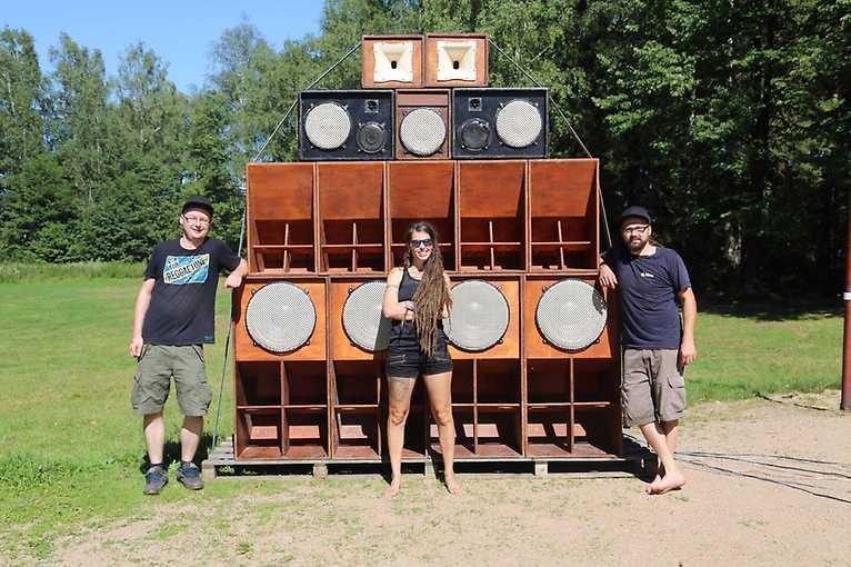Sound System Unity: Raggaultras Soundsystem + Pure Energy Soundsystem + more
