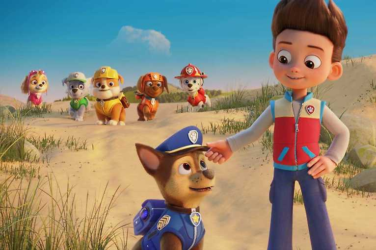 Tlapková patrola ve filmu