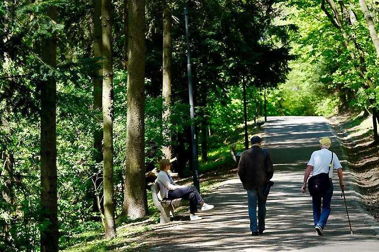 Rande s mestom: Horský park