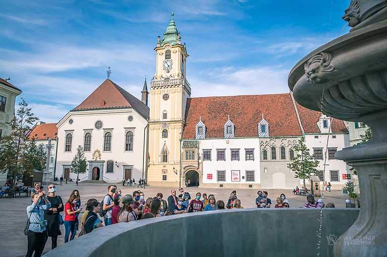 Rande smestom: Stredoveká Bratislava