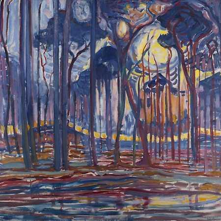 Między figuracją a abstrakcją: Piet Mondrian przed abstrakcją