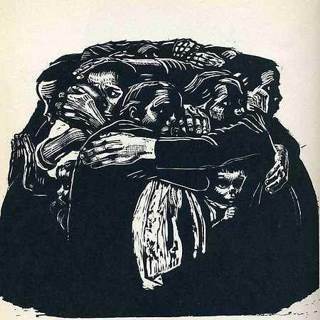 Czarno-biały świat: Käthe Kollwitz (1867-1945), sztuka zaangażowana społecznie